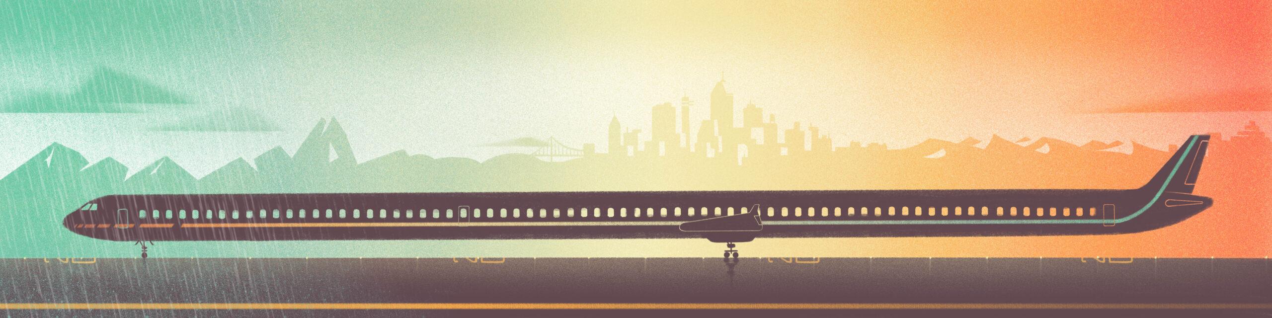 Longest Airplane